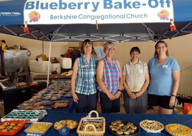 Blueberry Bake-off winners