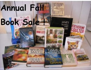 Fall book sale for slider 2