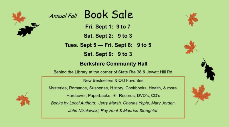 Fall book sale 2017