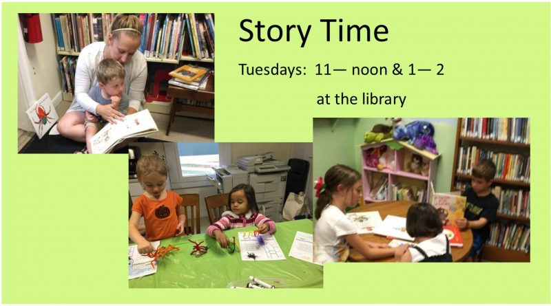 Story Time Oct 2017