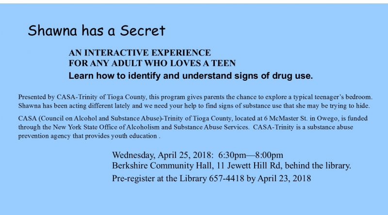 CASA-Trinity Teen Drug Abuse Program