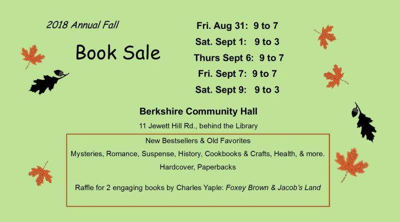 Fall Book Sale 2018