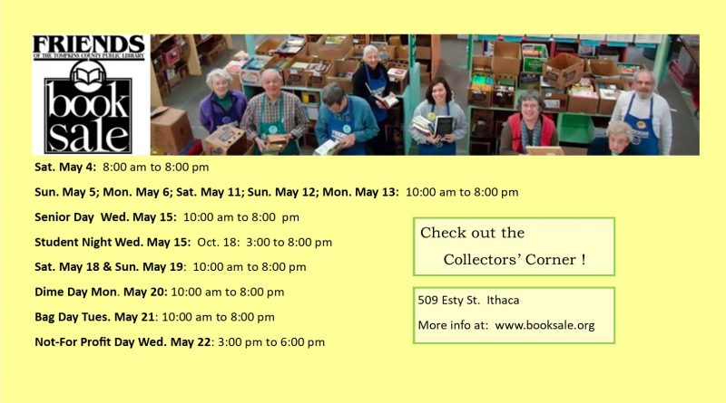 Friends of Tompkins Public Library Book Sale