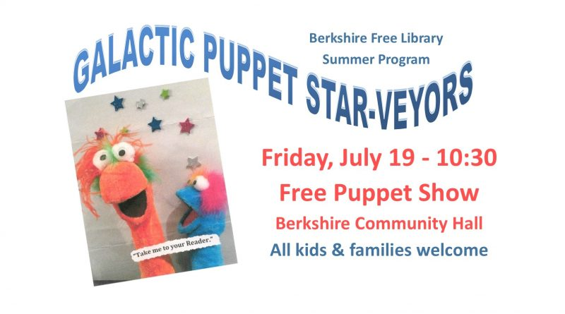Free Puppet Show:  All Kids & Families Welcome!