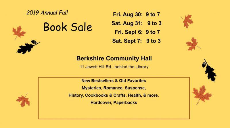Annual Fall Book Sale