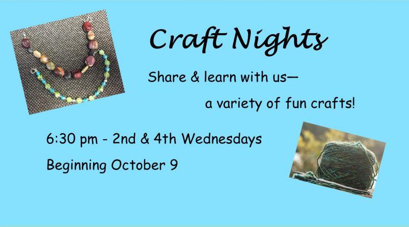 Craft Nights