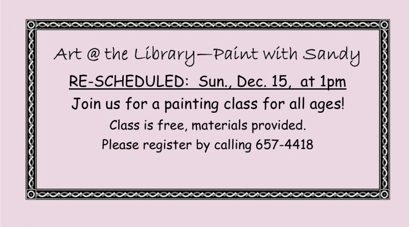 Art @ the Library