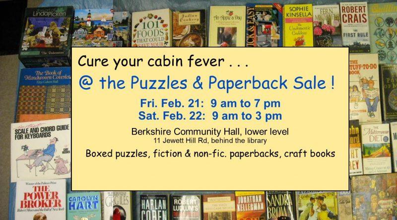 Puzzles & Paperback Sale