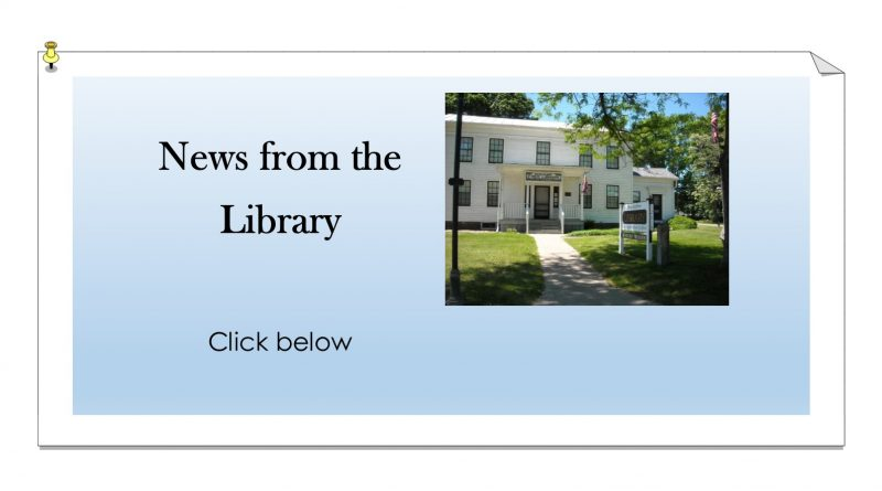 News from the Library