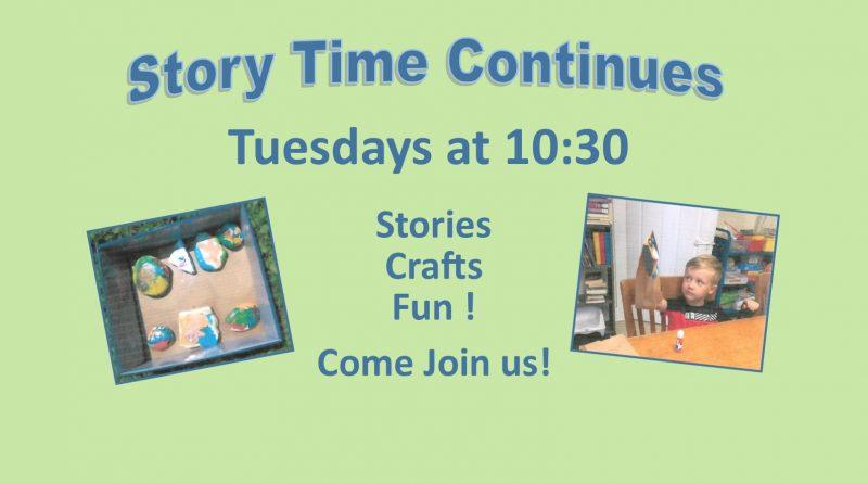 Story Time Tuesdays