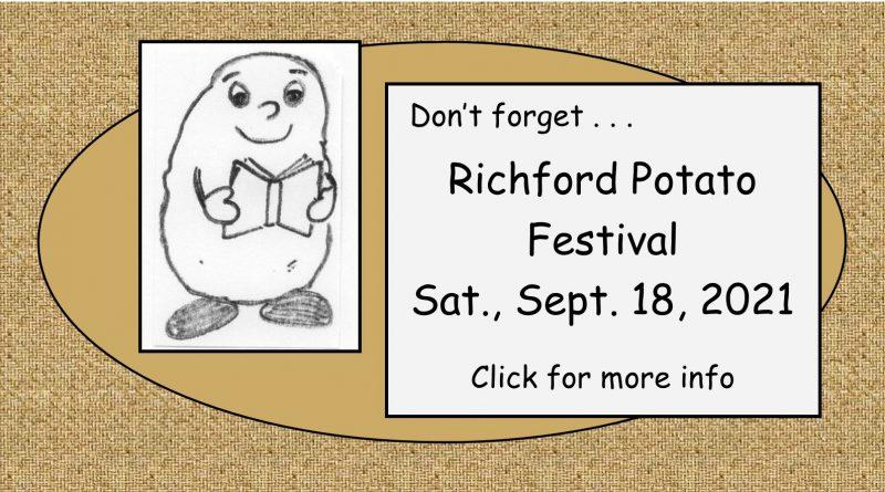 Richford Potato Festival 2021